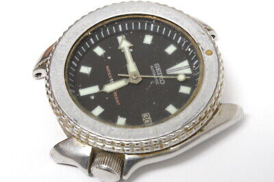 $ CDN112.97 • Buy Seiko 7002-7000 Diver Automatic Watch For Repairs, Parts/restore, Runs/stops