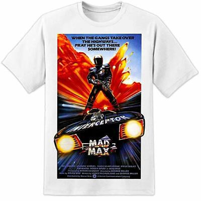 £10.50 • Buy Mad Max Road Warrior T-shirt Movie Film Poster HUGE PRINT Mel Gibson Cult DVD W