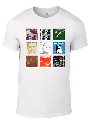 £9.95 • Buy The Smiths T-shirt Morrissey Album CD Collection White Cd Vinyl Queen Meat Rank