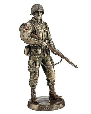 $81 • Buy 12.5  U.S Army Soldier Honor & Courage Statue Sculpture Military Figurine Figure