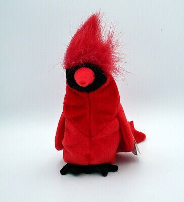 $338 • Buy MAC The Cardinal Ty Beanie Baby SUPER RARE MINT LIMITED EDITION Retired W/ERRORS