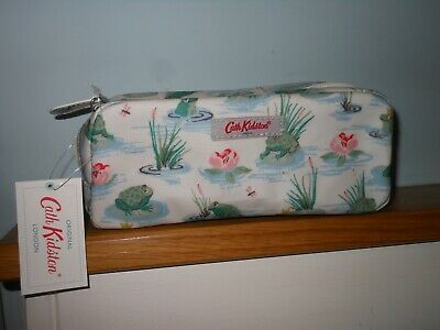 £12.99 • Buy CATH KIDSTON - NEW Pencil Case With Pocket  BATHING FROGS