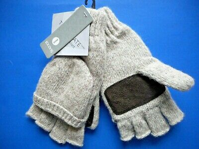 $12.50 • Buy Thinsulate Fingerless Gloves Convertible Mittens IGLOOS  New With Tags Mens NEAT