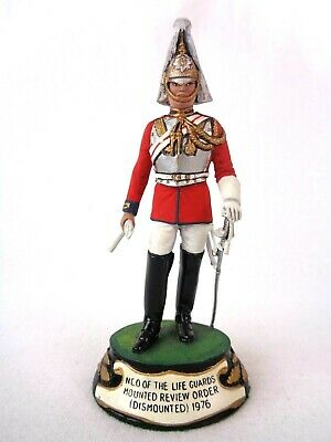 £79.99 • Buy Charles Stadden Pewter Figure Studio Painted NCO Life Guards Mounted Review 1976