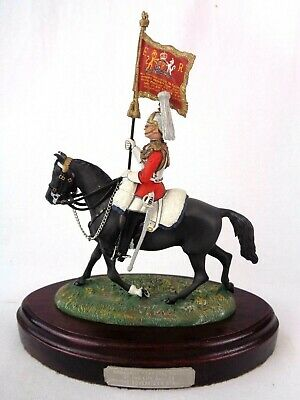 £279.99 • Buy Charles Stadden Pewter Figure Studio Painted Mounted Corporal Major Life Guards