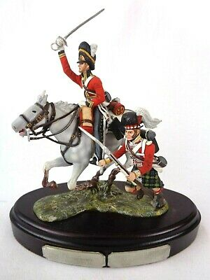 £389.99 • Buy Charles Stadden Pewter Figure Studio Painted Mounted Trooper & Private Dragoons