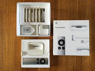 Apple Universal Dock MC746B/A - Original, Complete, Mint Condition - IPhone IPod • 21£