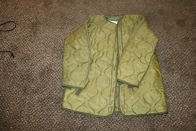 $28.80 • Buy NOS Unissued USGI M65 M1965 Fishtail Parka Quilted Liner Sz XS Extra Small