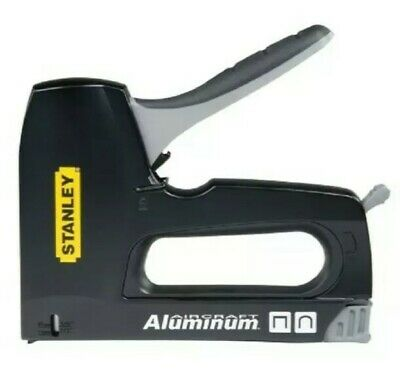 £19.95 • Buy Stanley Staple Gun Flat Round Cable 2 In 1 Tacker Stapler Metal STA6CT10 CT10X