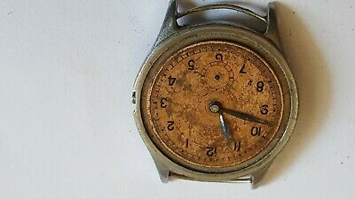 $ CDN48.71 • Buy VINTAGE Big Military Technos Ancre WWII 15 Rubis Jewels Swiss Made Watch