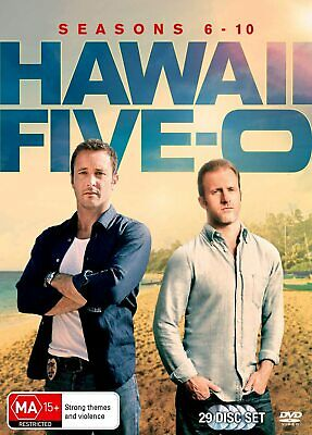 AU128.95 • Buy Hawaii Five-O Hawaii Five-0 Season 6 - 10 DVD Box Set R4