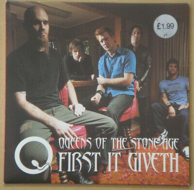 £19.99 • Buy Queens Of The Stone Age First It Giveth  Red Vinyl 7  Excellent Condition