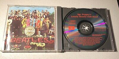 £5 • Buy The Beatles - Sgt Pepper's Lonely Hearts Club Band 1987 CD Free Postage
