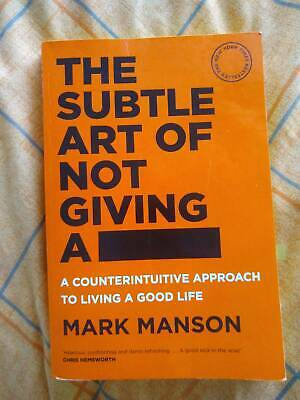 AU9.50 • Buy The Subtle Art Of Not Giving A F*** - Book ByMark Manson