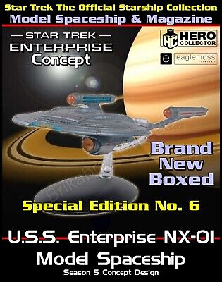£49.99 • Buy Star Trek The Starship Collection USS Enterprise NX-01 Model Special Edition New