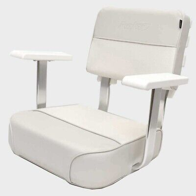 $ CDN444.32 • Buy Parker Boat Helm Seat 48430-13   Garelick 23 X 24 5/8 Inch Off White