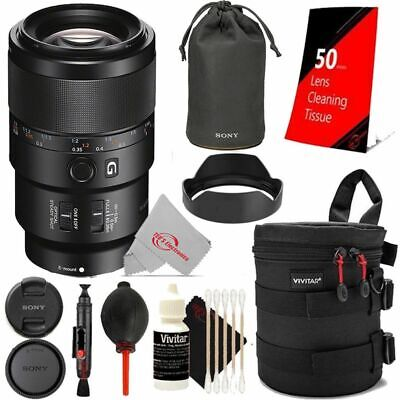 AU1274.15 • Buy Sony FE 90mm F/2.8 Macro G OSS Lens With Cleaning Accessory Kit
