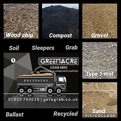 £170 • Buy Grab Hire / Muck Away Service And Aggregate Supplies Northamptonshire
