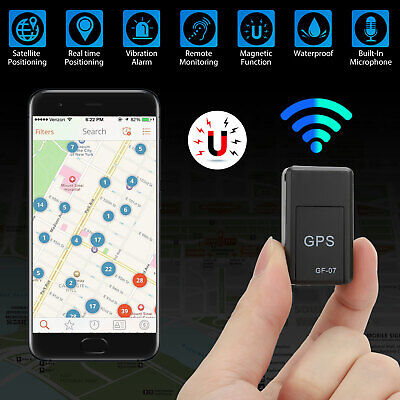 £6.55 • Buy Magnetic Mini GPS Tracker Car Kids GSM GPRS Real Time Tracking Locator Device UK
