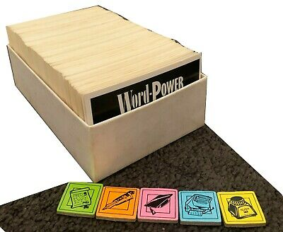 AU14.95 • Buy Word Power Senior Board Game 1990 Crown Andrews Replacement Cards And 5/6 Tokens