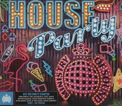 £4.65 • Buy Ministry Of Sound - House Party - Chic Gloria Gaynor Shalamar - 3 Cds - New!!