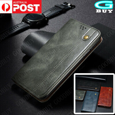 AU13.99 • Buy For OPPO  A52 Realme 7 Luxury Case Leather Wallet Card Slot Flip Cover