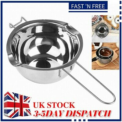 £7.57 • Buy Stainless Steel Wax Melting Pot Double Boiler For DIY Wedding Scented Candle UK