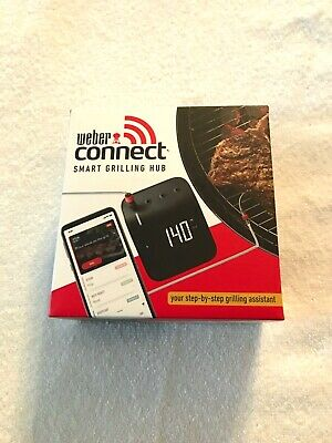 $ CDN95.95 • Buy Weber Connect Smart Grilling Hub WI-FI Bluetooth Digital Thermometer.   NEW