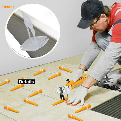 £22.95 • Buy 1000x Tile Leveling Spacer System Tool Clips Wedges Flooring Lippage Plier UK