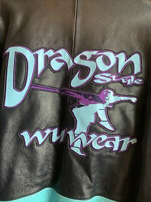 $ CDN909.85 • Buy Authentic Vintage Wu Wear Leather Jacket Size 4XL