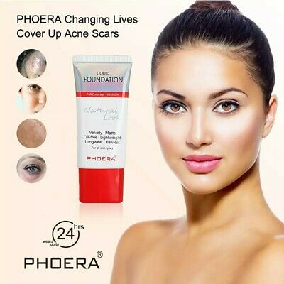 Phoera Naturally Flawless Full Coverage Oil Free Soft Matte Liquid Foundation • 3.89£