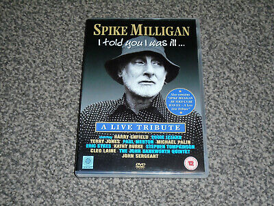 £2.49 • Buy Spike Milligan - I Told You I Was Ill : A Live Tribute Dvd - In Vgc (free Uk P&p