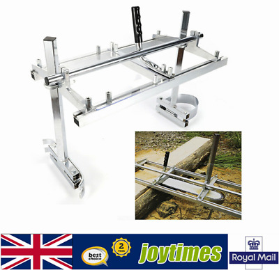 """£65.01 • Buy Portable Chainsaw Guide Bar Planking Mill Attachment Lumber Milling 14  To 24"""""""