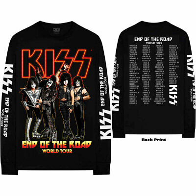 $24.98 • Buy KISS End Of The Road Final Tour Long Sleeve T-SHIRT NEW S M L XL XXL Official