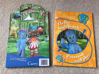 £5.95 • Buy In The Night Garden,Hello Igglepiggle Press Out & Play Book &Carry Activity Pack