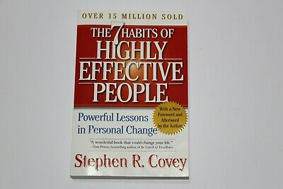 AU9.95 • Buy The 7 Habits Of Highly Effective People: Powerful Lessons In Personal Change