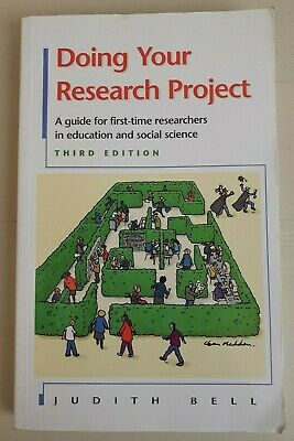 £3.20 • Buy Doing Your Research Project Paperback Book By Judith Bell