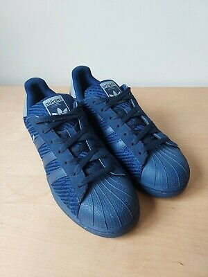 $ CDN77.71 • Buy Adidas ORIGINALS Superstar Foundation Skateboarding Sneakers Navy Blue Size UK9