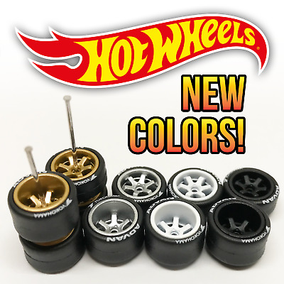 $ CDN1.24 • Buy Hot Wheels TE37 Deep Dish Real Riders Wheels And Tires Set For 1/64 Scale