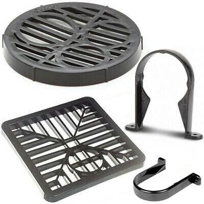 £2.99 • Buy Black Round Gully 7'' 175mm Round & Square Grid Gully 6'' Grid Cover,Gully Grid