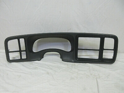 $80.95 • Buy 03-06 Chevy Silverado Dash Bezel DK PEWTER (DARK GRAY)