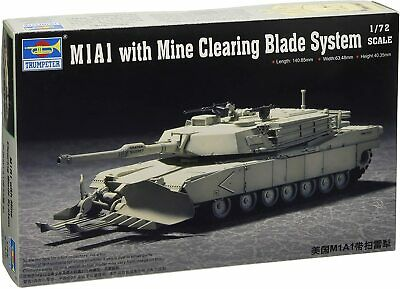 $21.99 • Buy Trumpeter 7277 US M1A1 Abrams W/Mine Clearing 1:72 New  Free Shipping