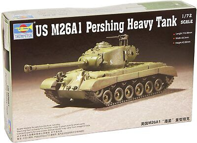 $21.99 • Buy Trumpeter 7286 US M26A1 Pershing Heavy Tank 1:72 New  Free Shipping