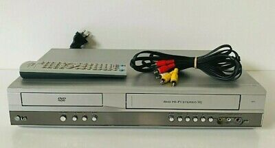 AU149.99 • Buy LG V271 DVD/VCR Combo Video Player 6 Head HiFi VHS Recorder W/ Remote Working