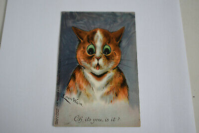 £39 • Buy  LOUIS WAIN Postcard  Oh Its You, Is It ?  1906 Cat Card Faulkner & Co