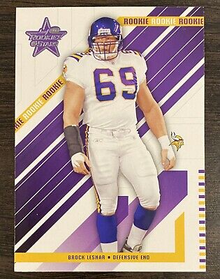 $119.99 • Buy BROCK LESNAR 2004 Leaf Rookies & Stars RC Vikings UFC🔥🔥💎💎📈