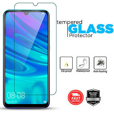 Tempered Glass Screen Protector For Huawei PSmart 2019 P20 P30 P40 Lite Pro • 1.99£