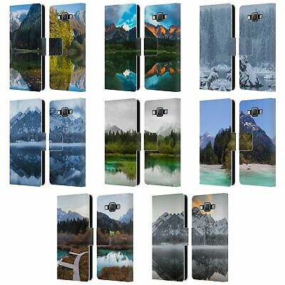 £14.83 • Buy Official Patrik Lovrin Magical Lakes Leather Book Case For Samsung Phones 2