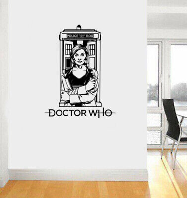 £18.99 • Buy Dr Who Jodie Whittaker Thirteenth Dr Wall Sticker Icon Wall Decal Art Sticker