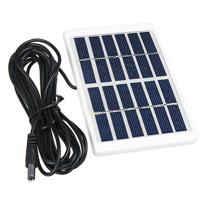 £4.19 • Buy 5W 6V USB Solar Panel Power Bank Tablet Phone Charger Portable Camping Hiking